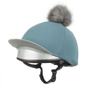 LeMieux Faux Pom Pom Hat Silk – Sage