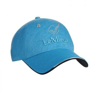 LeMieux Luxe Baseball Cap – Azure