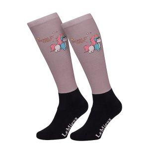 LeMieux Women's Footsie Socks – Unicorn