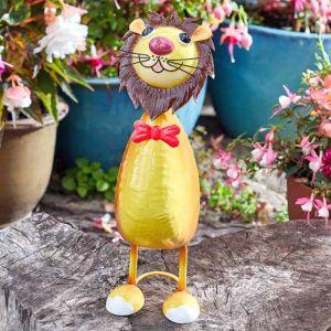 Lenny Lion Garden Ornament