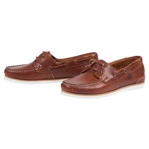 Barbour Bowline Boat Shoe - Cognac