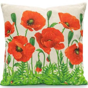 LG Outdoor Poppy Fields Scatter Cushion
