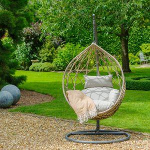 LG Outdoor Lyon Single Hanging Egg Chair