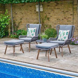 LG Outdoor Santa Fe 2 Seater Relaxer Set