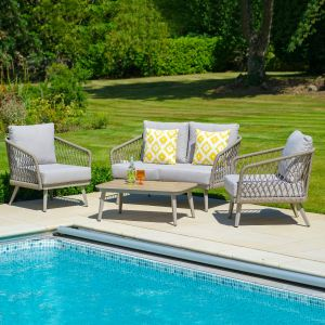 LG Outdoor Sarasota 4 Seater Lounge Set