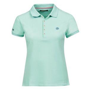 Dublin Women's Lily Cap Short Sleeve Polo Shirt – Lichen Green