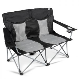 Kampa Lofa Double Camping Chair - Fog