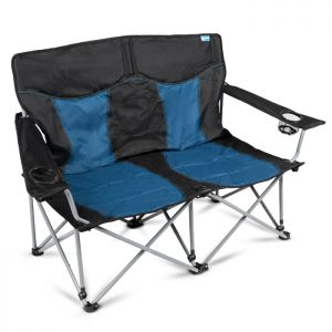 Kampa Lofa Double Camping Chair - Midnight