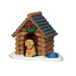 Lemax Christmas Figurine - Log Cabin Dog House
