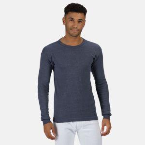 Regatta Men's Long Sleeve Thermal Vest - Denim
