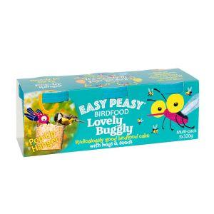 Jacobi Jayne Easy Peasy™ Lovely Buggly Bird Food – Pack of 3
