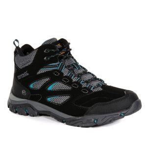Regatta Women's Holcombe IEP Mid Walking Boots - Black/Deep Lake