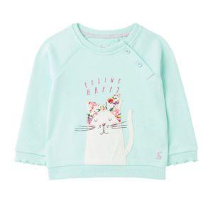Joules Baby Luella Cotton Sweatshirt – Ocean Cat