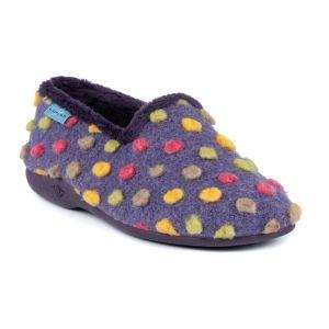Lunar Women's Helix Slippers - Purple