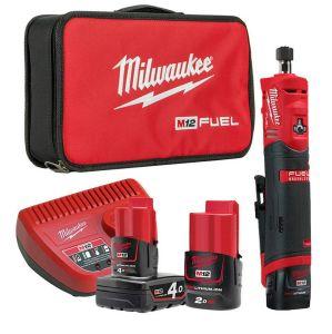 Milwaukee M12FDGS-422B ¼″ Straight Die Grinder Kit