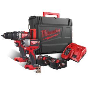 Milwaukee M18BLPP2A2-502X Brushless Powerpack