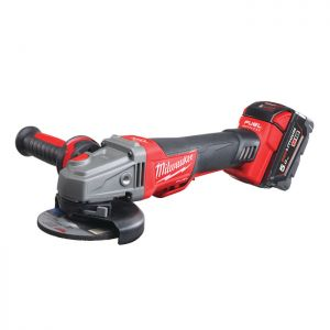 Milwaukee M18CAG115XPDB-502X Fuel 115mm Braking Grinder with Paddle Switch