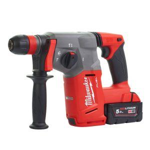 Milwaukee M18CHX-502X Fuel SDS-Plus Hammer with Fixtec Chuck