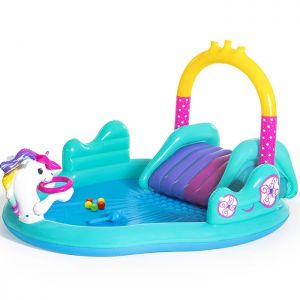 Bestway Inflatable Magical Unicorn Carriage Play Pool