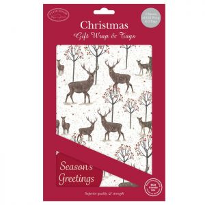 Christmas Gift Wrap & Tags – Majestic Stag
