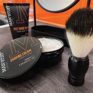 Man'Stuff Shave Trio with Brush