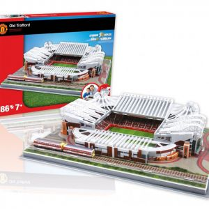 3D Puzzle Manchester United's Old Trafford Stadium - 186 Piece
