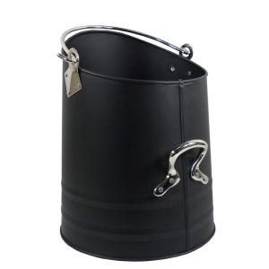 Mansion Coal Bucket with Nickel Handles