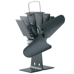 Mansion Heat Powered Stove Fan – Black