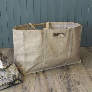 Mansion Jute Log Bag