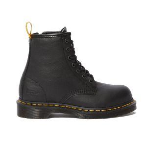Dr Martens Women's Maple Zip Safety Boots - Black
