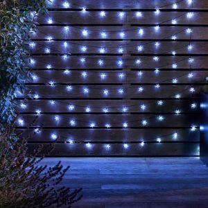 Smart Solar SuperBright String Lights – White, 100 Stars