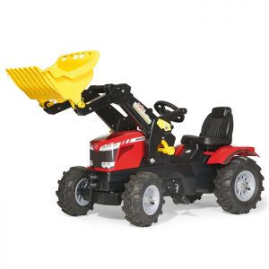 Massey Ferguson 7726 Farmtrac Rolly Ride-On Tractor with Loader