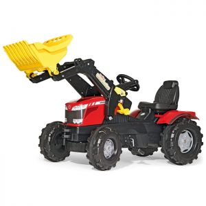 Massey Ferguson Farmtrac Rolly Ride-On Tractor with Loader