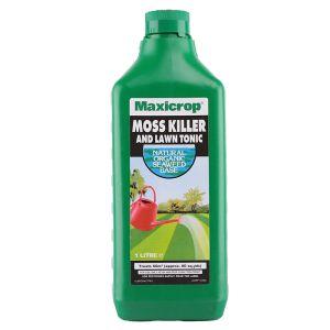 Maxicrop Moss Killer and Lawn Tonic – 1L