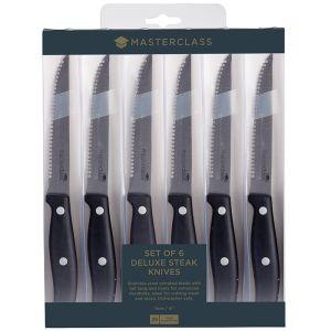 MasterClass Steak Knife Set, Set of 6