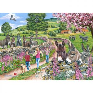 House Of Puzzles Big 500 The Harrow Collection MC544 Mindy, Muffin, & Mo Jigsaw Puzzle - 500 Piece