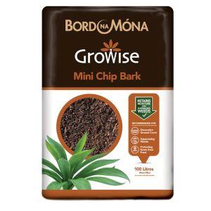Bord Na Mona Mini Chip Bark – 100 litres