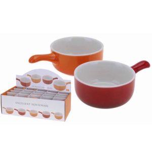 Koopman Mini Ceramic Dish with Handle – Assorted