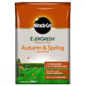 Miracle-Gro Evergreen Premium Autumn and Spring Lawn Food - 400m²