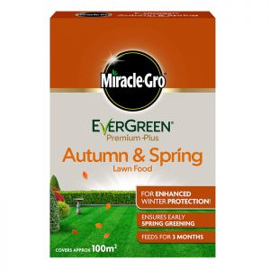 Miracle-Gro Evergreen Premium Autumn and Spring Lawn Food - 100m²