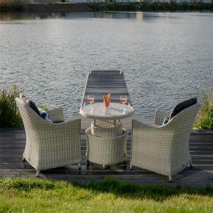 Bramblecrest Monterey 2 Seater Bistro Set with Adjustable Table
