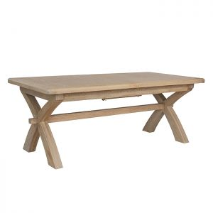 Montgomery Oak Cross Leg Dining Table
