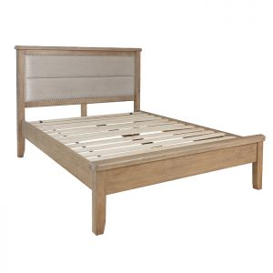 Montgomery Oak Double Bed Frame