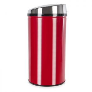 Morphy Richards Chroma Round Sensor Bin, 30 Litre - Red