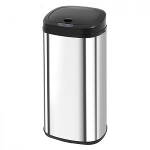 Morphy Richards Chroma Square Sensor Bin - Stainless Steel, 42L