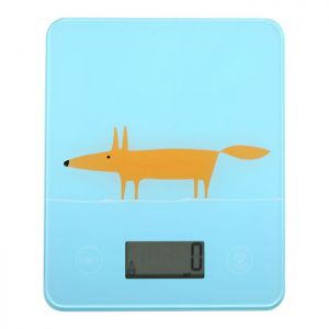 Dexam Scion Living Mr Fox Electronic Scales - Blue and Orange