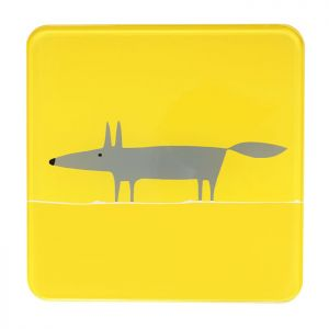Dexam Scion Living Mr Fox Hot Pot Stand - Yellow