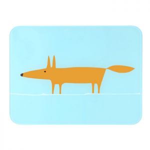 Dexam Scion Living Mr Fox Worktop Saver - Blue and Orange