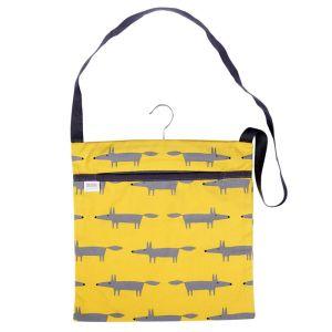 Dexam Scion Living Mr Fox Wipe Clean Peg Bag - Yellow