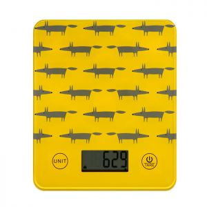 Dexam Scion Living Mr Fox Electronic Scales - Yellow